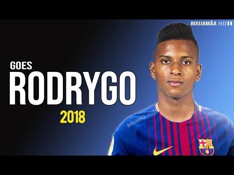 Rodrygo Goes – Next Neymar – Welcome To Fc Barcelona – Magic skill 2018