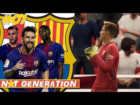 CL ACHTELFINALE TICKET IZZ DA 😍 | NXT GENERATION FC Barcelona FIFA 18 Karrieremodus #07
