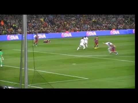 FC Barcelona – Real Madrid (29/11/2010) Goal David Villa Manita Clasico