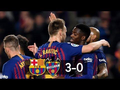 Barcelona vs Levante 3−0 All Gоals & Extеndеd Hіghlіghts 17/01/2019 HD