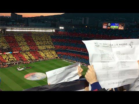 FC Barcelona – Real Madrid. 2016/04/02 Barça anthem