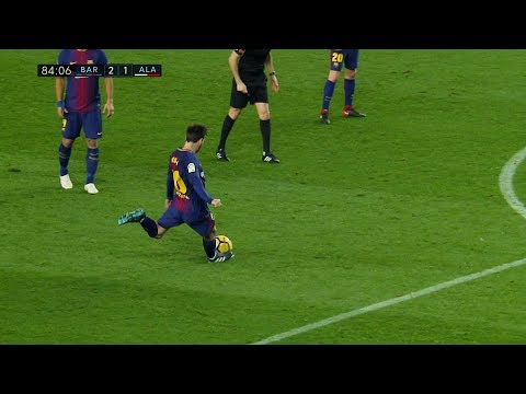 Lionel Messi vs Alaves (Home) 28/01/2018 HD 1080i – English Commentary