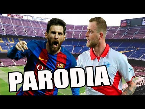 Canción Barcelona vs Alavés 2-1 (Parodia Shakira – Trap ft. Maluma)