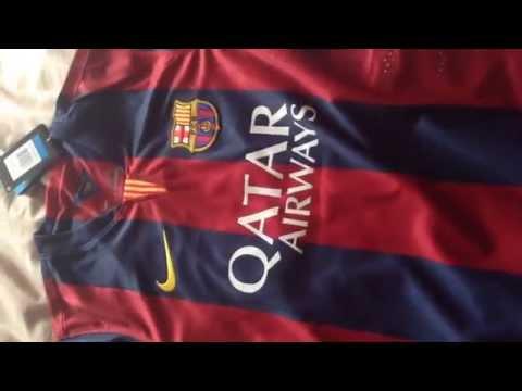 GoGoalShop Shirt Review – FC Barcelona 2014/15 home Cheap football tops