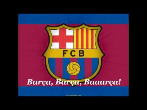 FC Barcelona Anthem english subtitle
