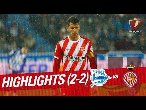 Resumen de Deportivo Alavés vs Girona FC (2-2)