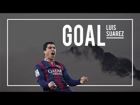 Luis Suárez goal – Barcelona vs AS Roma 6-1 (Champions League 2015) HD   24-11-2015