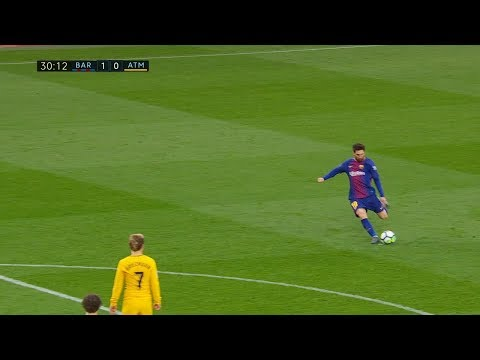 Lionel Messi vs Atletico Madrid (Home) 04/03/2018 HD 720p by SH10