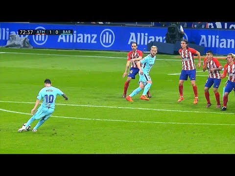 Lionel Messi vs Atletico Madrid (Away) 14/10/2017 HD 1080i by SH10