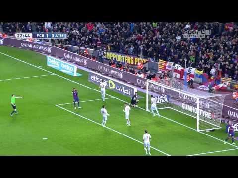 FC Barcelona vs Atletico Madrid – Highlights 11-01-2015 (HD/HFR)
