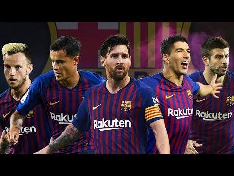 FC Barcelona 2018/19 ● Best Teamplay Goals | Tiki Taka