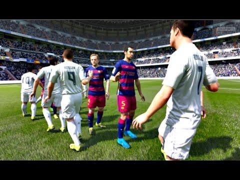 FIFA 16 – Real Madrid vs Barcelona (FIFA 2016 PC Full Gameplay)