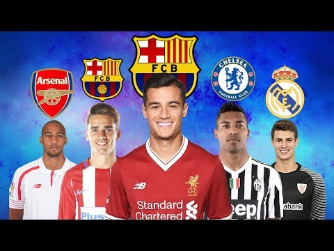 LATEST TRANSFER NEWS 2018 | COUTINHO TO BARCELONA, GRIEZMANN TO BARCELONA, ALEX SANDRO TO CHELSEA