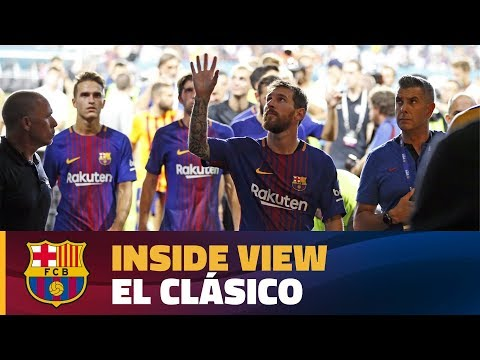 INSIDE TOUR | Behind the scenes: FC Barcelona – Real Madrid (ICC 2017)