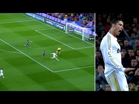 The day CR7 flattened FC Barcelona at the Camp Nou – Oh My Goal