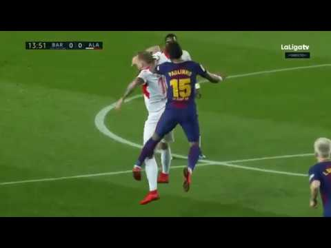 Barcelona vs Alaves (2-1) Jan 28, 2018 |HD| Full Match -SUBSCRIBE!!!