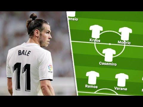 Real Madrid team news Predicted Real Madrid line up vs Alaves –Three injured, Bale back