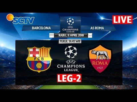 JADWAL [LIVE STREAMING] AS ROMA VS BARCELONA FC UEFA CHAMPIONS LEAGUE 2018  LEG 2 BEIN SPORTS 2
