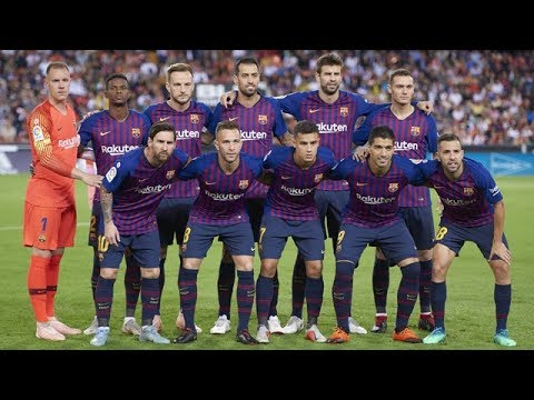 How Tall and Old Are FC Barcelona's Players? (2019)