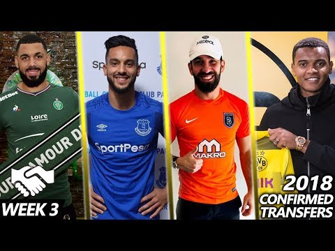 20 CONFIRMED TRANSFERS OF THE WEEK #3 | LATEST TRANSFER NEWS 2018
