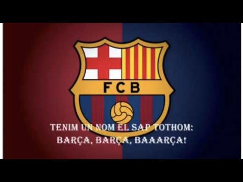 FC BARCELONA ANTHEM SONG WITH ENGLISH LYRICS