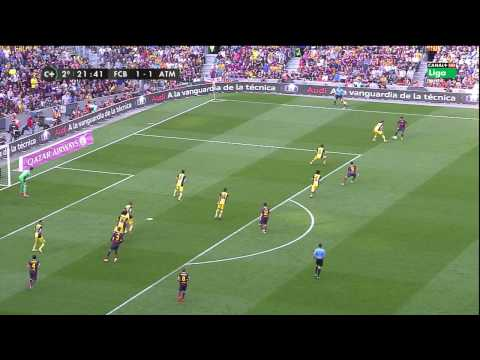 La Liga 17 05 2014 FC Barcelona vs Atlético de Madrid – HD – Full Match – 2ND – Spanish Commentary