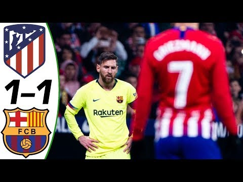 Atletico Madrid vs Barcelona 1-1 2018 – Match Preview ( with English Commentary ) 24/11/2018 HD