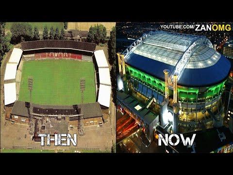 10 Football Stadiums | Then & Now | Ft. Türk Telekom Arena, Signal Iduna Park…etc