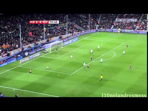 FC Barcelona vs Sevilla FULL MATCH 30 10 2010 HD