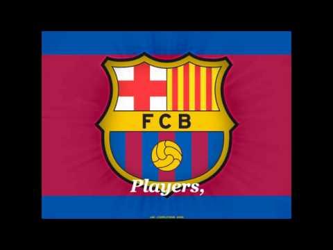Fc Barcelona anthem (english subtitles)