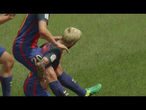 FIFA 17 | Real Madrid vs FC Barcelona | PS4 Pro 4K GamePlay