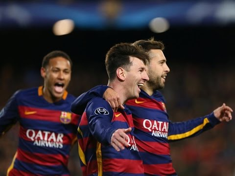 Lionel Messi vs Roma HIGHLIGHTS FC Barcelona VS Roma 6 – 1: 24/112015