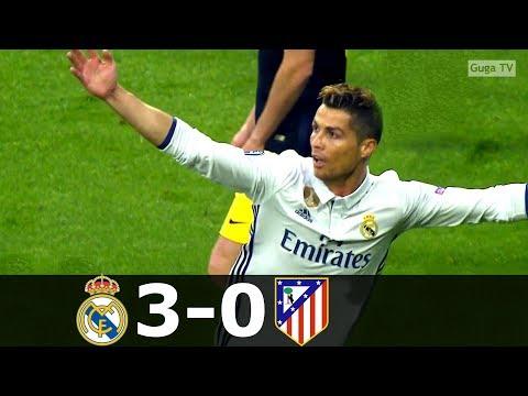Real Madrid vs Atletico Madrid 3-0 – UCL 2016/2017 (1st Leg) – Full Highlights HD
