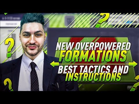 FIFA 18 NEW OVERPOWERED FORMATION !!!! BEST TACTICS & INSTRUCTIONS !!! SPECIAL NEW FORMATION !!!!