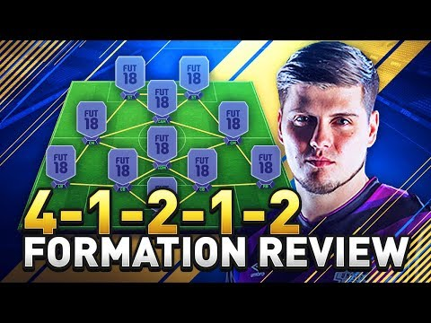 BEST TIKI TAKA FORMATION IN FIFA 18 TUTORIAL! THE 41212 GUIDE  IN ULTIMATE TEAM! (FUT 18)