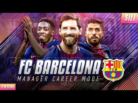 FIFA 18 Barcelona Career Mode – EP1 – Amazing New Signings!! Insane High Potential Striker Joins!!