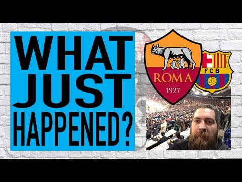 What just happened? | LIVE from the Stadio Olimpico | Roma v Barcelona reaction
