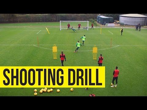 INSIDE TRAINING: Crossing And Shooting Drill From All Angles