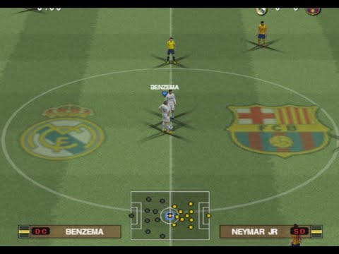 PES 2016 (PS2) Real Madrid vs FC Barcelona – El Clásico!!! Liga BBVA