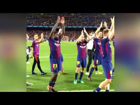 FC Barcelona – Celebrations – Camp Nou – Ole Ole Oleeeee