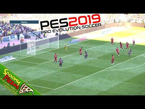 PES 2019   Full Gameplay in STUNNING 4K + HDR!   Barcelona vs Liverpool   GORGEOUS!