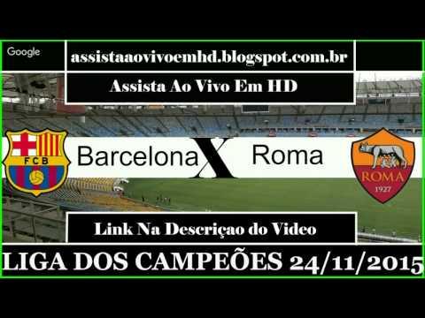 Barcelona vs AS Roma Live Stream – en vivo Champions League 2015