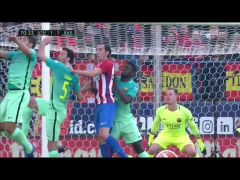 Atletico Madrid vs Barcelona 1-2 GOALS ONLY HD ENGLISH COMMENTARY