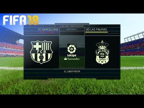 FIFA 18 – FC Barcelona vs. UD Las Palmas @ El Libertador