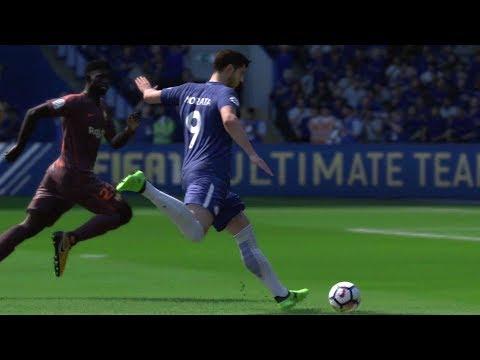 FIFA 18 – Chelsea vs FC Barcelona – Gameplay (HD) [1080p60FPS]
