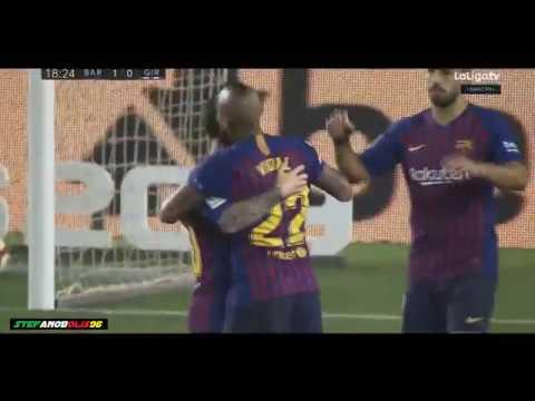 Lionel Messi Goal ⚽ Barcelona Vs Girona 2-2 ⚽ 2018\2019 ⚽ HD #Barcelona #Messi