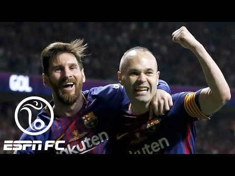 Andres Iniesta will leave Barcelona at the end of the season | ESPN FC