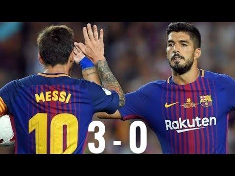 BARCELONA VS REAL MADRID – (3-0) 23 Desember 2017