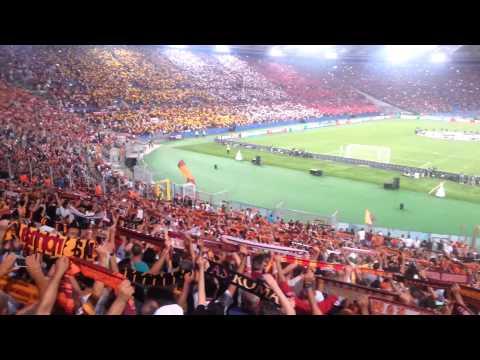 """""""Roma, Roma, Roma""""  – Roma vs. Barcelona, Champions League, Stadio Olimpico 16.09.2015"""