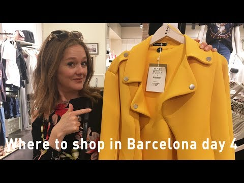 Barcelona shopping 2017 – where to shop in Barcelona – luxury, outlet,  high street